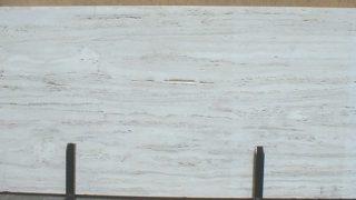 白色系大理石ホワイトトラバーチンのご紹介