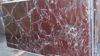 ロッソレバント トルコ産紫色の大理石のご紹介