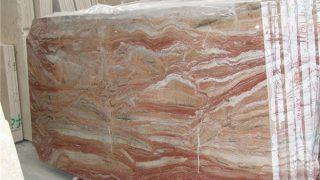 アラベスカートオロビコレッド イタリア産赤系大理石のご紹介