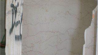 イタリアのピンクのラインが流れるベージュ系大理石フィレットロッソのご紹介