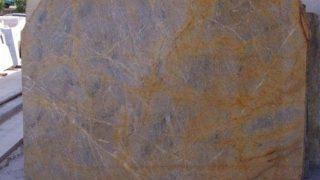 ギリシャエヴィアの希少なゴールド柄の大理石 マイカリソスゴールドのご紹介