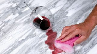 大理石のシミを簡単にとる方法(How to easily take marble stain)